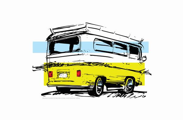 vintage camper vw bus