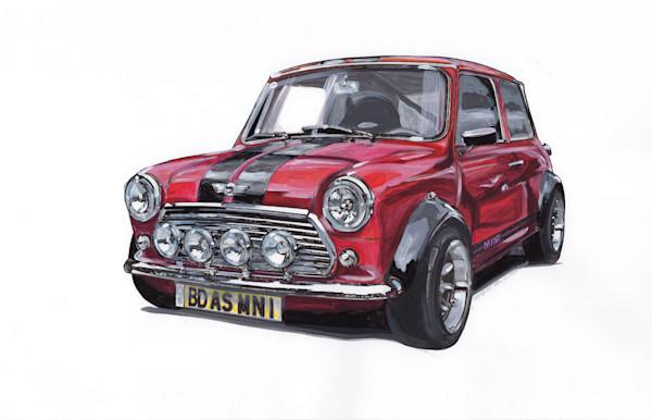 Mini Cooper Vintage racer