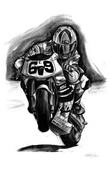 nicky wheelie 11x17
