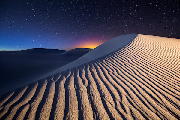 Blue Hour at White Sands Photograph for Sale as Fine Art