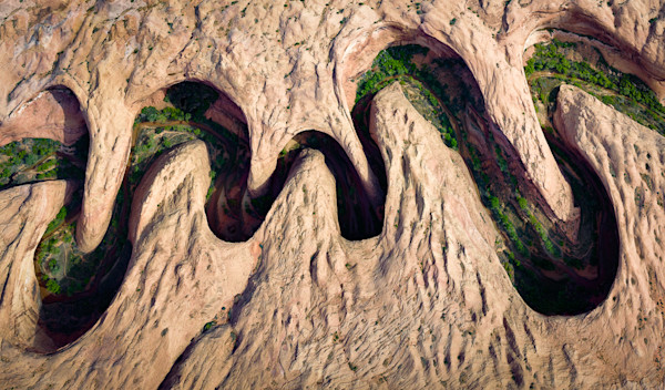 Meandering Canyon