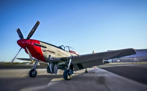 Art Photograph North American Aviation P-51 Mustang v3 fleblanc
