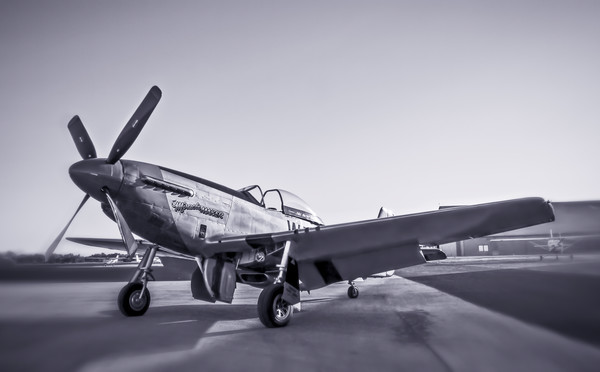 Art Photograph North American Aviation P-51 Mustang v4 fleblanc