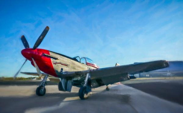 Art Photograph North American Aviation P-51 Mustang v2 fleblanc
