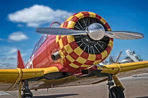 Art Photograph T-6/AT-6 Texan Trainer v1 fleblanc