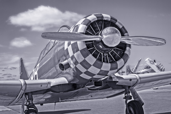 Art Photograph T-6/AT-6 Texan Trainer v2 fleblanc
