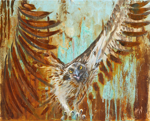 Reactive Metals art and paintings by Holly Whiting for purchase as original and giclee prints