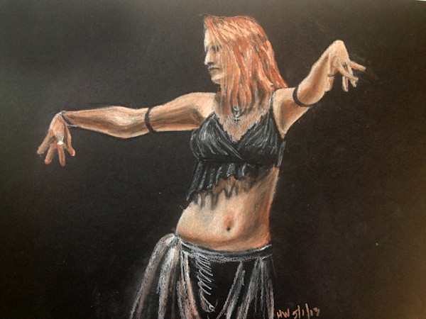 Art and original paintings of people for sale