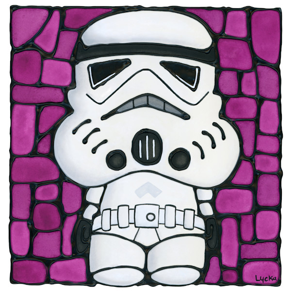 Stormtrooper - Pink Artwork