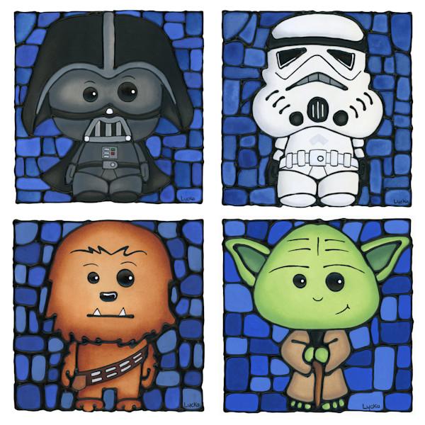 Star Wars - Blue Set Artwork