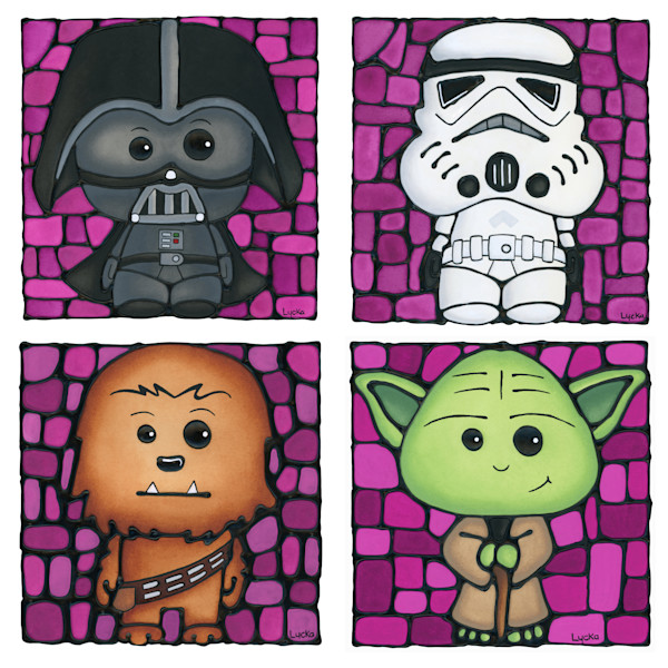 Star Wars - Pink Set Artwork
