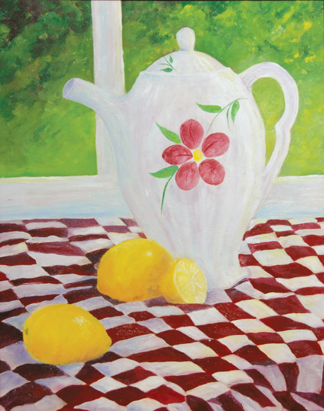 """Summertime Lemonade"" by Judy Johnson 