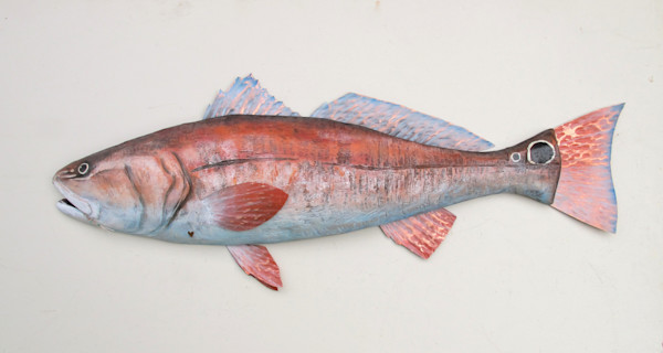 Buy Louisiana Redfish wall sculpture