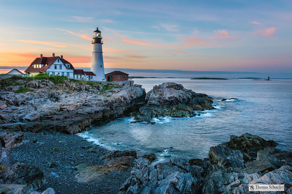 Coastal New England Seascape Photography Prints / Beautiful seascape wall decor by Thomas Schoeller