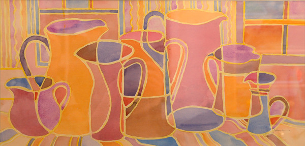 """My Pitcher Collection"" by Judy Johnson 