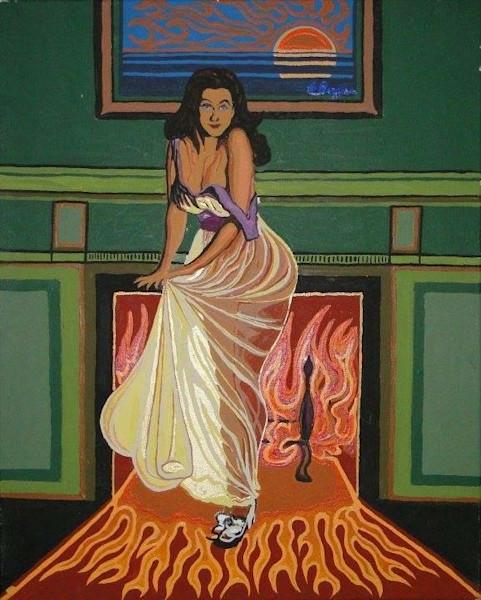 Hot Mama on Fire