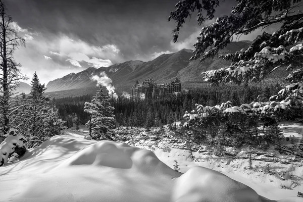Black & White Art Photographs from Banff National Park