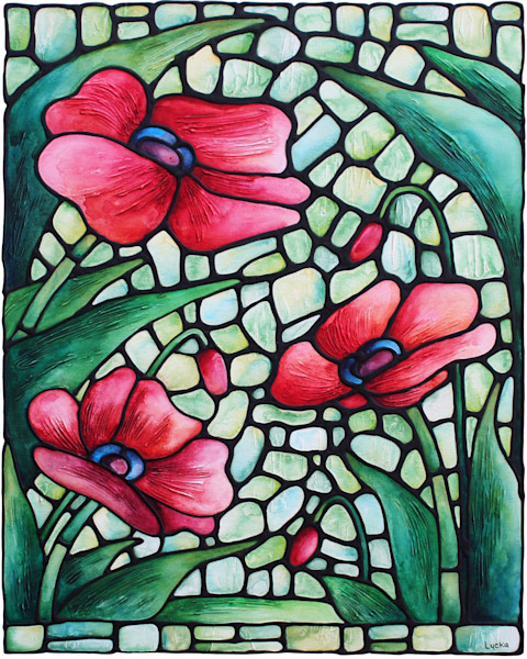 Poppy Dance Artwork Print
