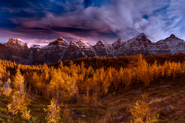 Landscape photos for sale. Banff & Canadian Rockies.