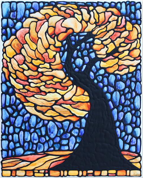Swaying Tree Original Painting