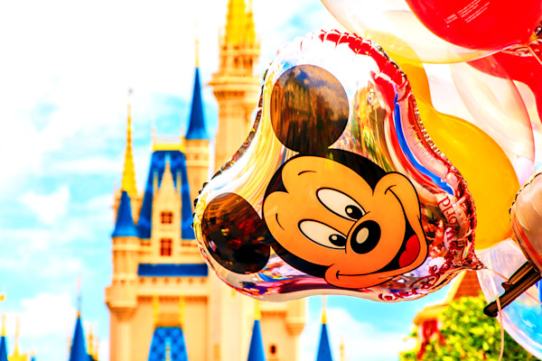 Mickey Balloon at Walt Disney World Photograph for Sale as Fine Art