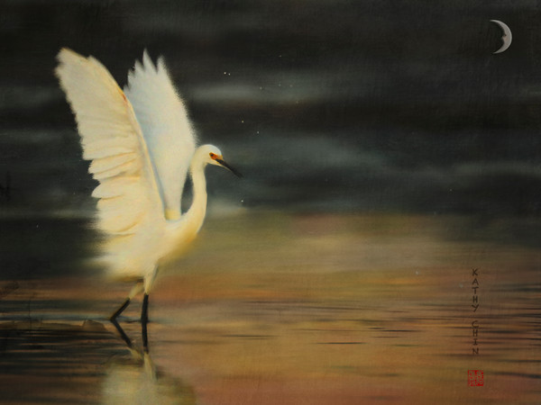 Egret Strut