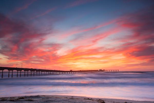Ocean Beach Pier Lit