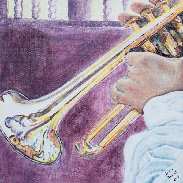 """""""Music to our Ears - Trumpet"""" By Sonia Farrell 