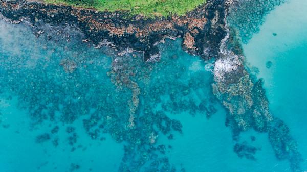 Maui Abstract Shoreline