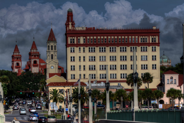Fine Art Photograph of Afternoon in St. Augustine by Michael Pucciarelli