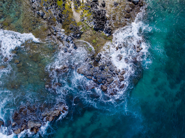 Maui Hookipa Abstract