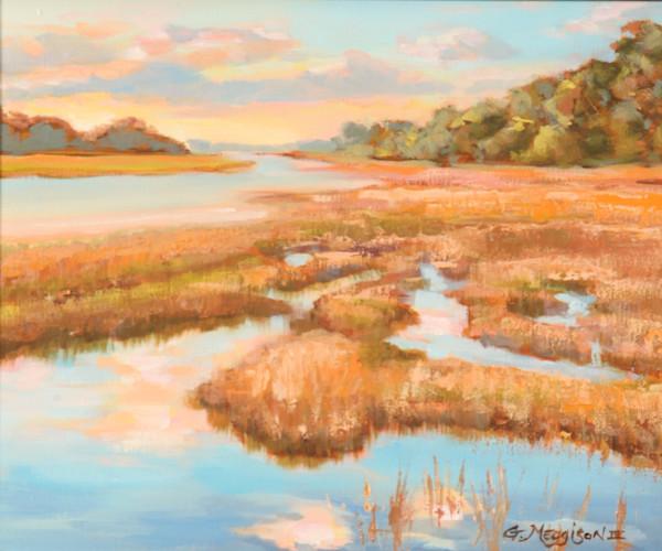 Mud River | Contemporary Landscapes | Gordon Meggison IV
