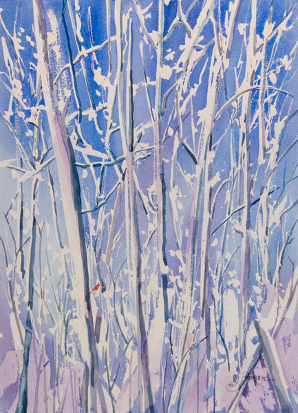 """Winter Puffs"" by Judy Johnson 