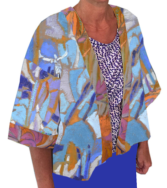 Tuscan Dreamers Kimono Jacket Dorothy Fagan Collection