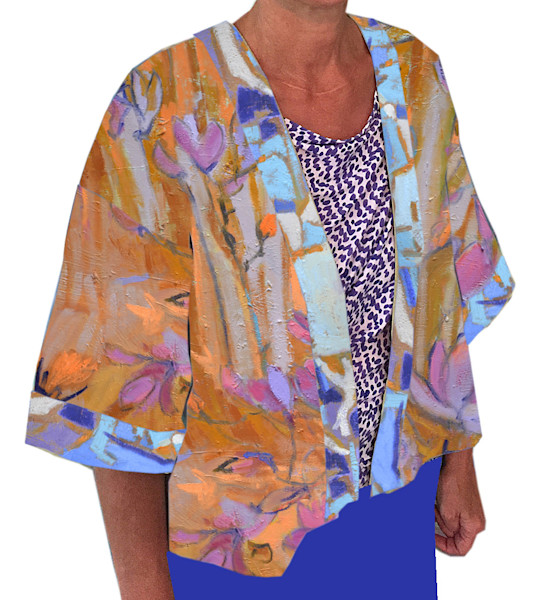 Golden Earth Tulip Kimono Jacket Dorothy Fagan Collection