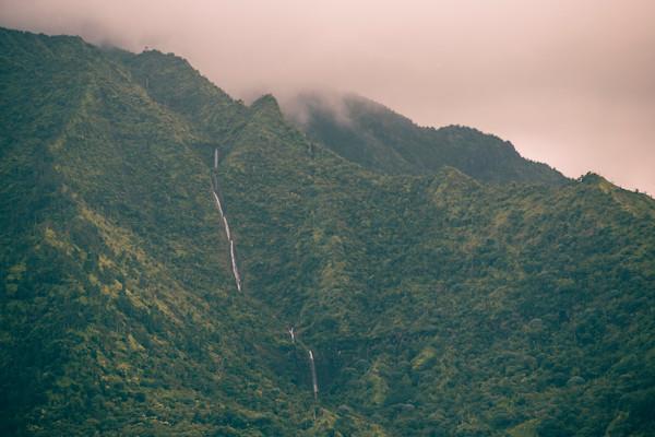 Hanalei Waterfall Kauai