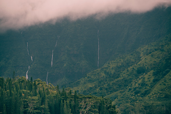 Three Falls Hanalei Kauai