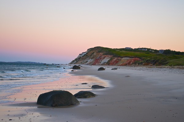 Photograph of Philbin Beach in Aquinnah, Massachusetts