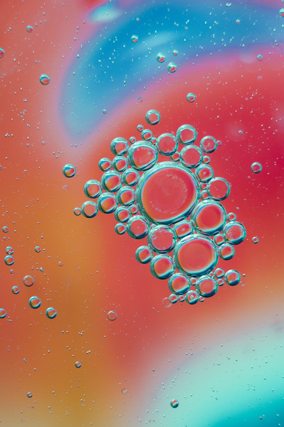 Oil and Water art photographs Kevin Blackburn