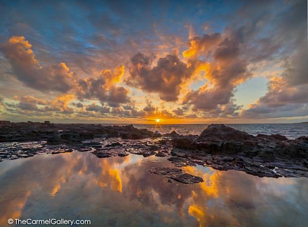 Dramatic Sunrise Photo  on Kauai
