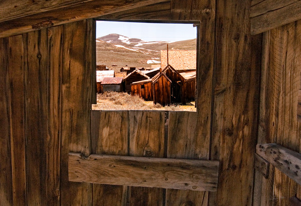 Stepping Into the Past fine art photograph of Bodie, Ca by Richard Stefani