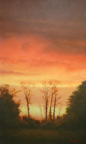 Shop for original paintings like Passageway, oil on canvas by Bruce Brainard at Matt McLeod Fine Art Gallery.
