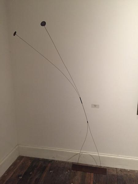 Shop for original sculptures like Floating Disk 1.3, metal, by Harry Loucks at Matt McLeod Fine Art Gallery.