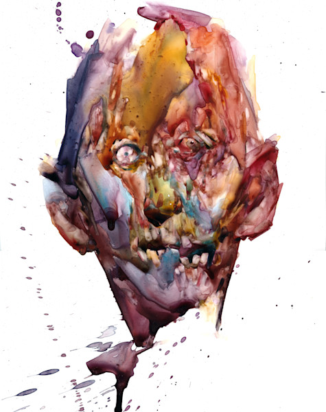 Subjective Beauty- watercolor portraiture from the imagination of Akira Beard