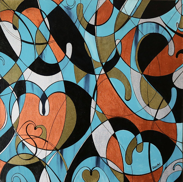 Sheetal Shaw - Paisley - Intermingling Boteh - Abstract
