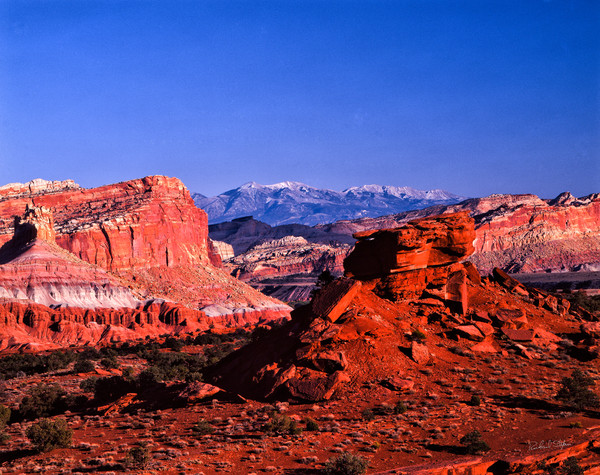 Capital Reef View – Henry Mountains photograph for sale by Richard Stefani – Stefani Fine Art