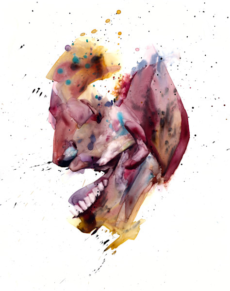 Watercolor on Yupo paper- Imagining portraits by Akira Beard