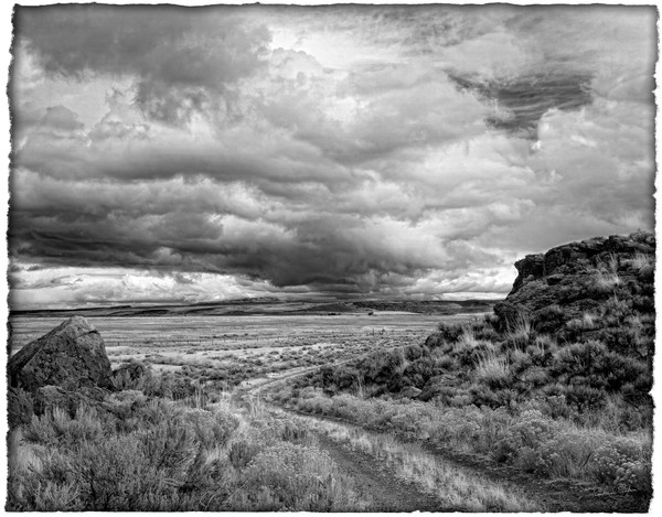 Eastern Oregon Approaching Storm photograph for sale by Richard Stefani