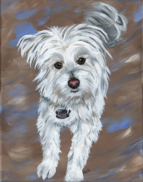 Realistic acrylic art paintings and drawings of your beloved pet. Portraits to cherish.