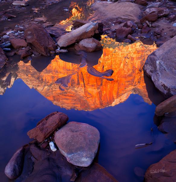 Zion Reflection photograph by Richard Stefani